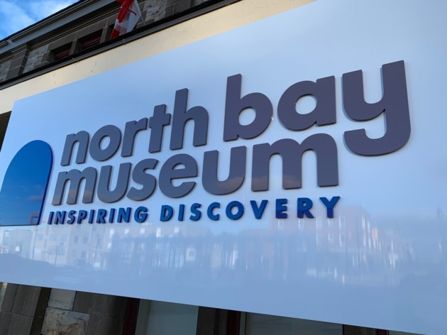 20190411 north bay museum sign new turl