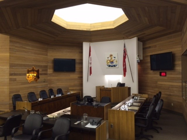 City council chambers. File Photo.