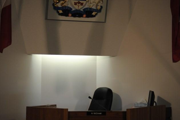 mayor's chair empty