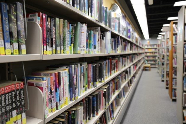 north bay public library shelves stock