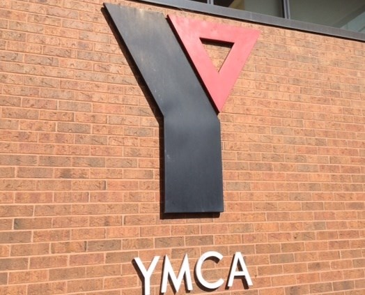 YMCA building sign turl