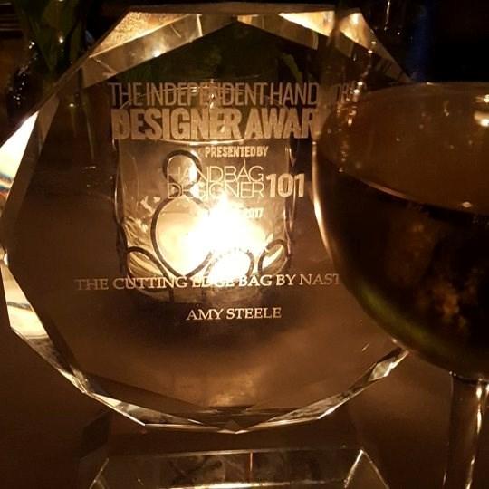 'Winner, winner, chicken dinner' was how Amy Steele announced her win on Facebook.