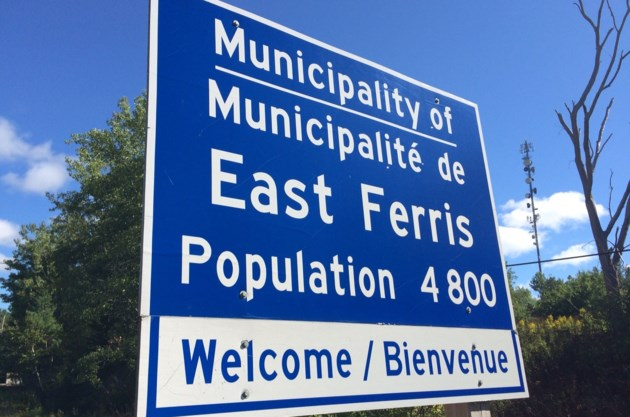 east ferris entrance sign with pop turl