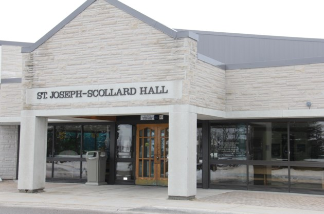 Image result for st joseph scollard hall north bay