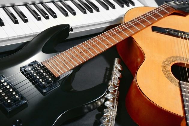 musical instruments-shutterstock 2016