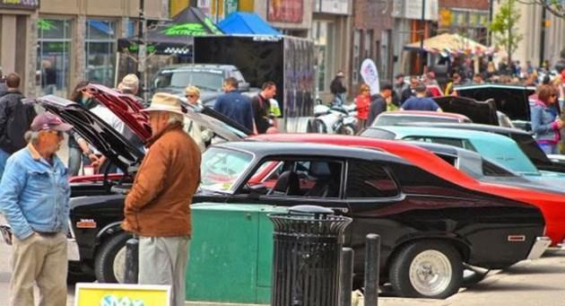 Downtown Car Show This Saturday BayTodayca - Car show downtown
