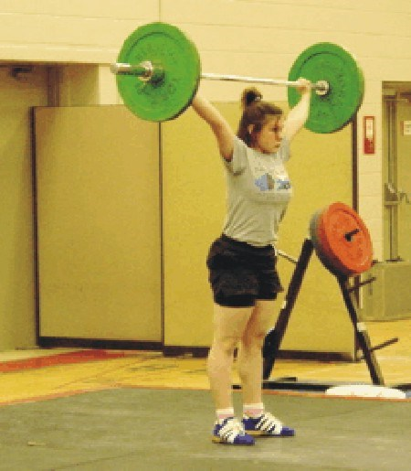 Stavrula Liritzis of the Valkyries won a bronze medal in the 63-kilo  class.