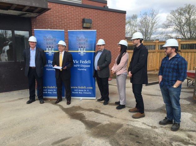 Fedeli puts on his hard hat to talk about efficiencies