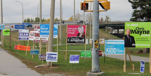 election sign report to rot on the shelf baytoday ca