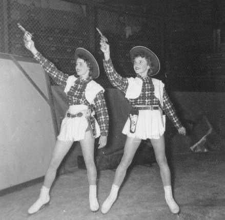 cowgirl figure skaters