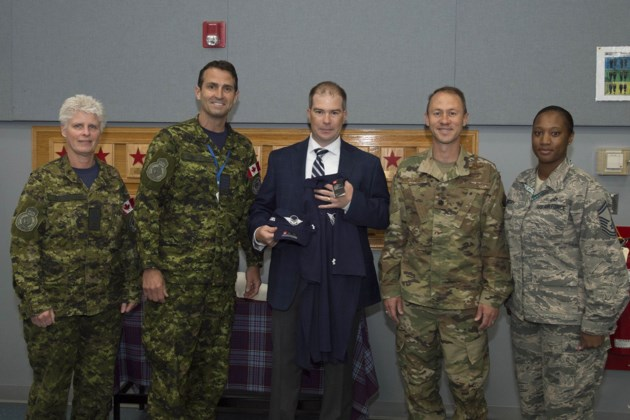 2019 brad gavan honourary commander