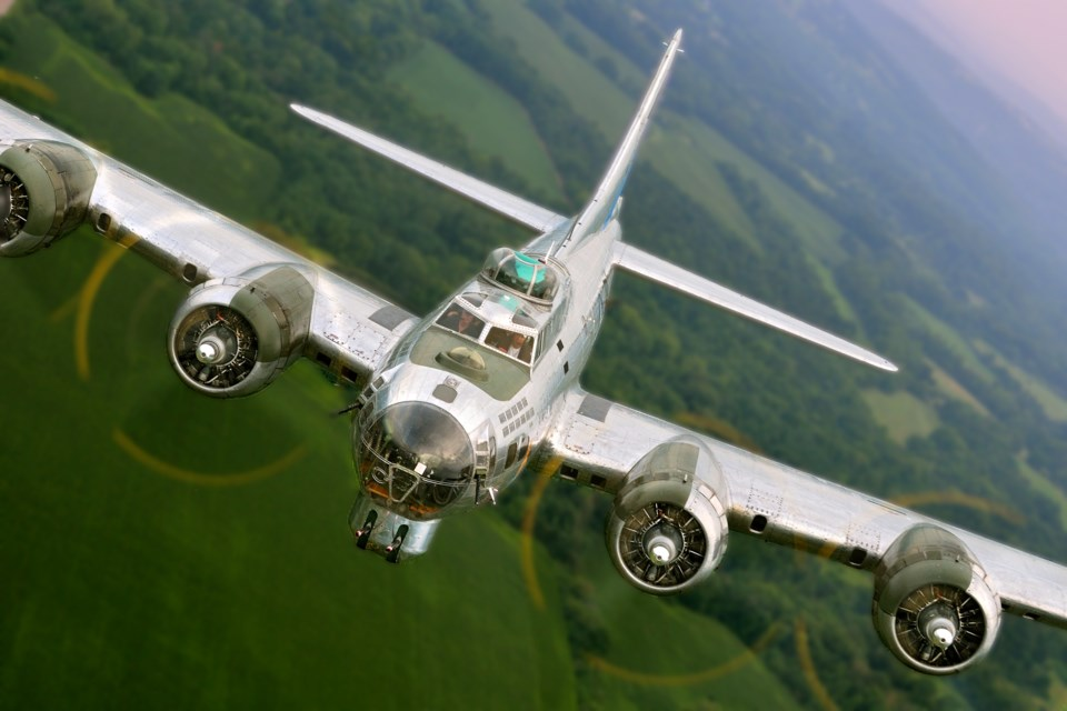 A B-17 bomber. Photo submitted.