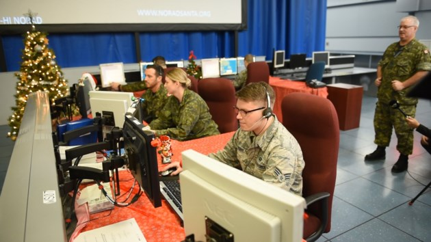 Which Organization Tracks Santas Flight On Christmas Eve.Norad Crews Ready To Track And Escort The Most Important