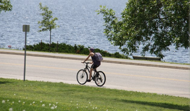 USED 170720 4 Biking along the Kate Pace Way. Photo by Brenda Turl for BayToday.
