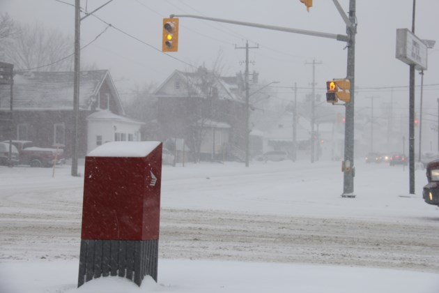 USED 20180124 9 Snowy John Street. Photo by Brenda Turl for BayToday.