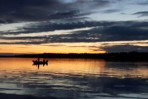 Sunset on Callander Bay
