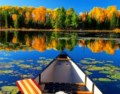 Fall tour: capturing colours by canoe