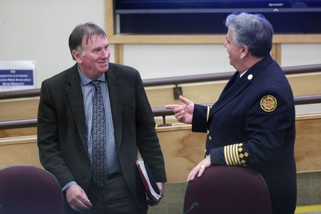 2015 10 13 CAO Horsman Sault Fire Chief Mike Figliola Council KA