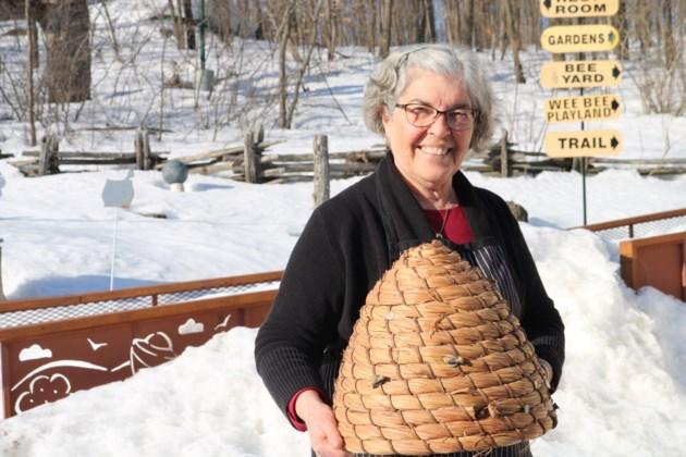 20190410 Anne Board from Board's Honey Farm