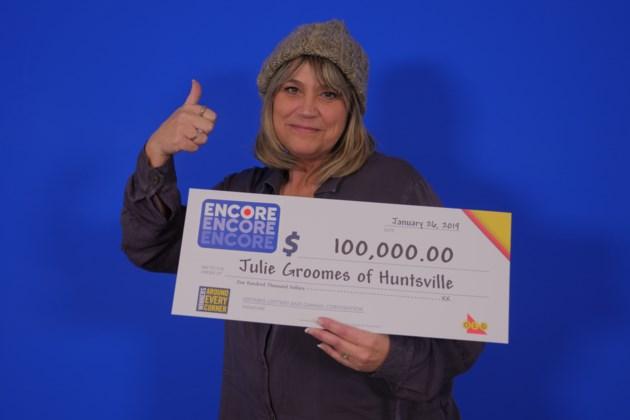 Encore _Jan 19, 2019 100,000.00_Julie Groomes of Huntsville