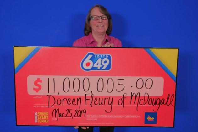 Lotto 649 11,000,005.00_Doreen Fleury of McDougall