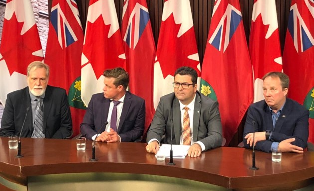 MPP Bourgouin press conference