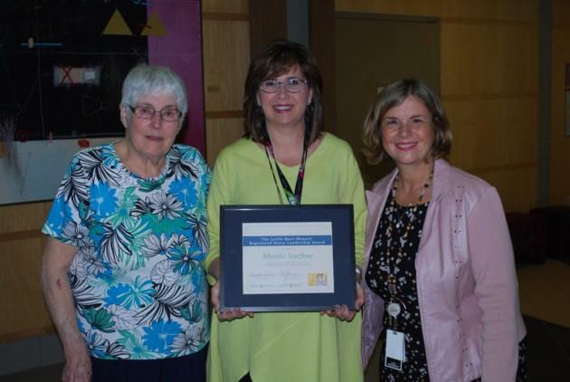 Rhonda Scarfone award recipient