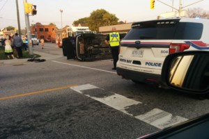 Accident on Main Street