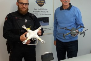 Police add drones to search and rescue toolkit