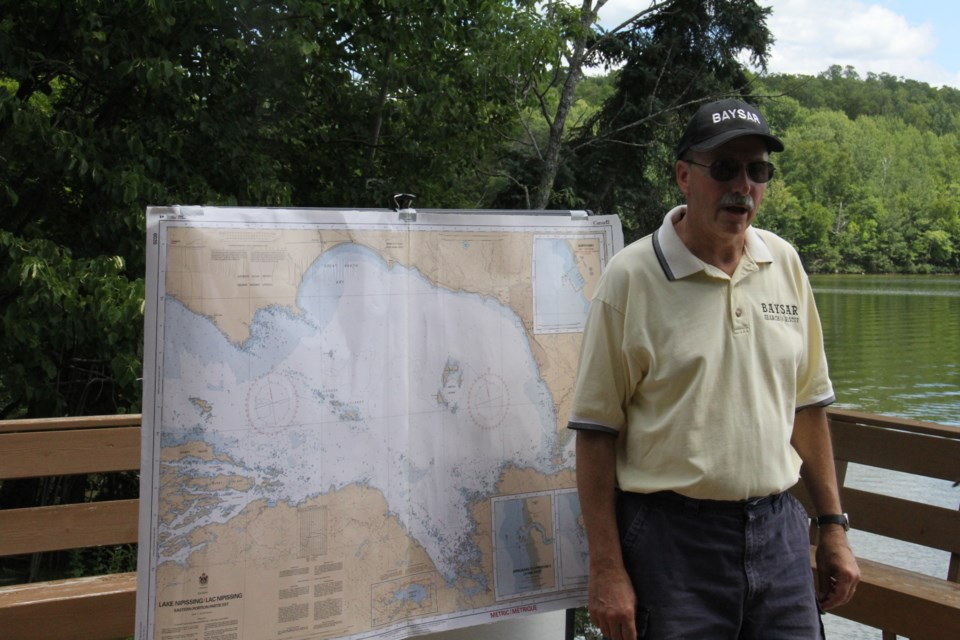 Stan French, President of BAYSAR Search and Rescue