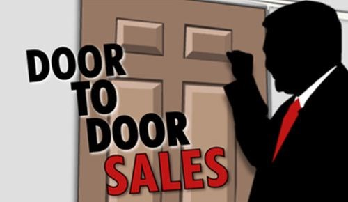 New legislation clamps down on door to door sales for Door to door salesman