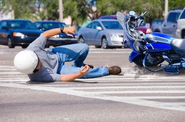 Disturbing motorcycle