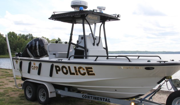 opp patrol boat on trailer turl 2017