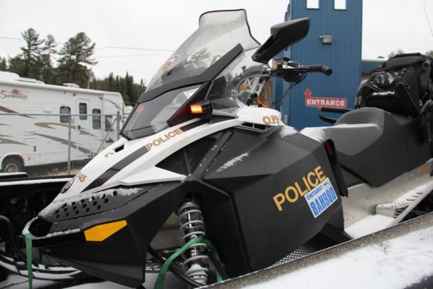 OPP snowmobile on truck turl 2015