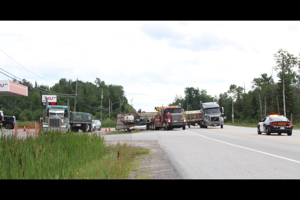 401 crash leads to charges