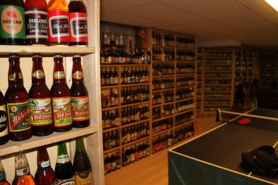 a canadian beer bottle collection like no other baytoday ca