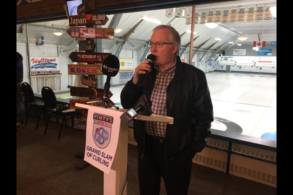 Mark Brown is part of the event committee that will be hosting another high profile curling event at North Bay's Memorial Gardens. (Chris Dawson/BayToday.ca)