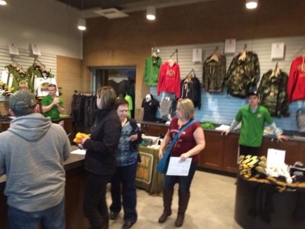 Battalion shop