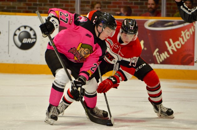 Battalion host Pink in the Rink game tonight - BayToday.ca 85b4531c7