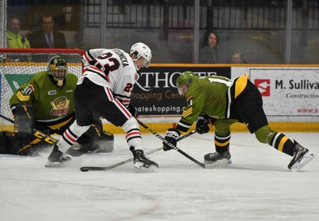 Battalion comeback falls short against IceDogs