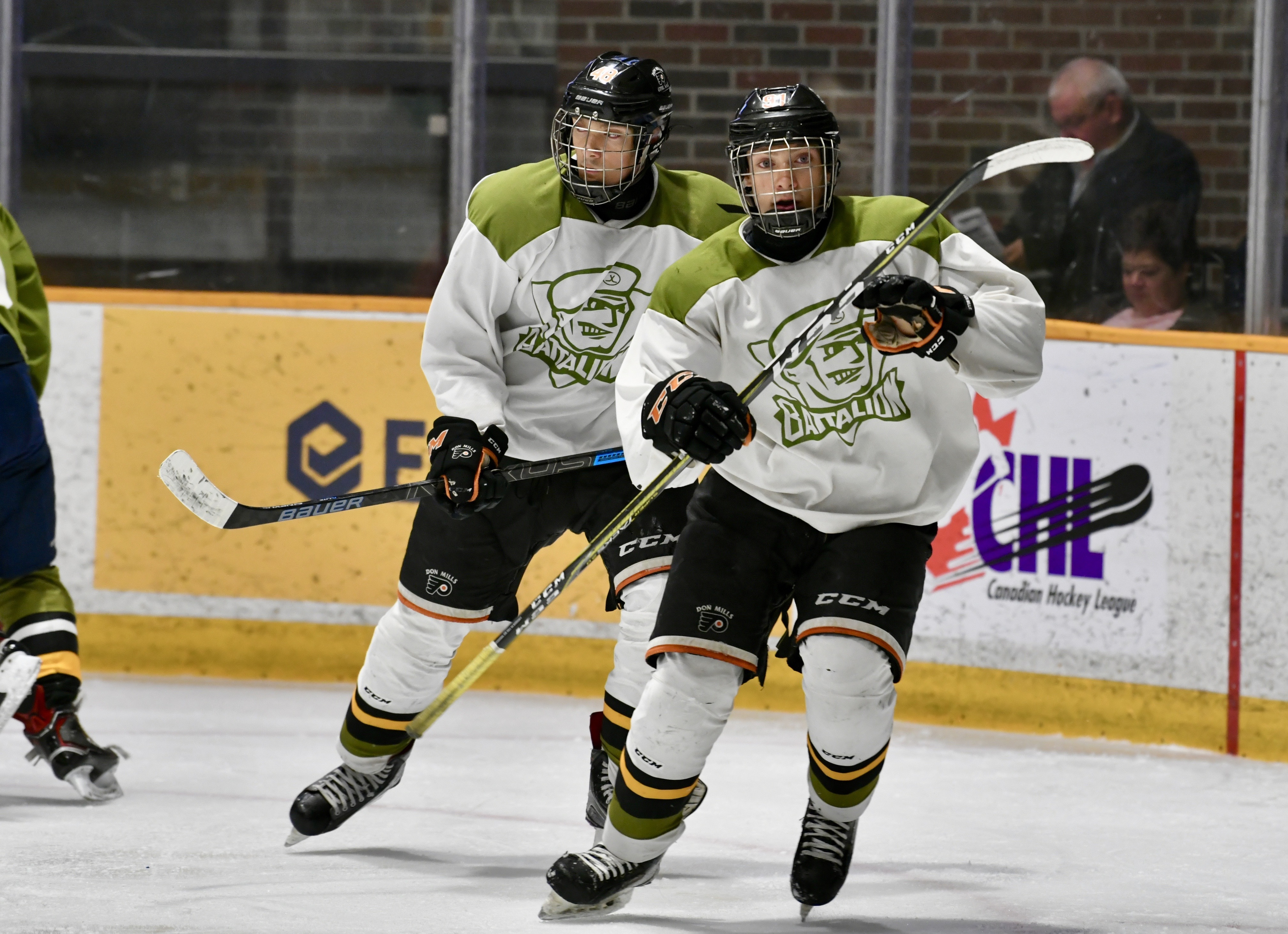 Don Mills Flyers Trio Looking To Make An Impact With Battalion