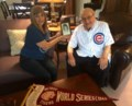 Ageless Cubs fan can't wait for World Series to begin