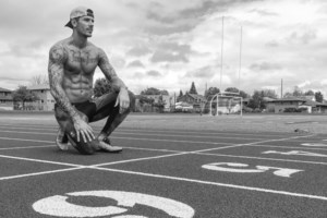 A motivated local athlete pursuing an Olympic dream