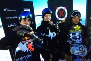 Big day on the hill for two local slope style skiers