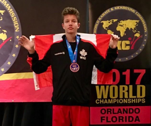 Rhane Daly Stevens kickboxer