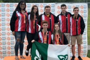 Locals score gold at Canadian Francophone Games