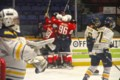 Denomme the hero as Trappers clip Flyers in GNML semi-final opener