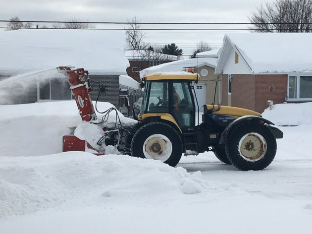 20190216 snow removal tractor