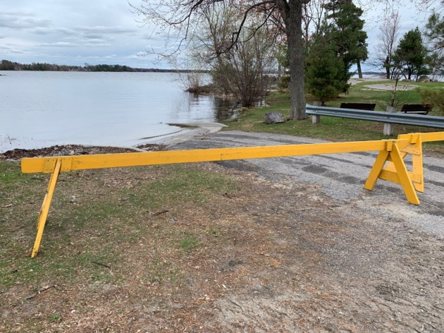 20190519 sunset park boat launch closed turl