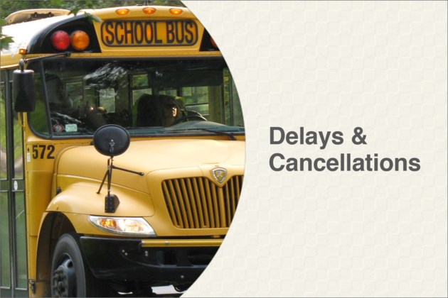 school bus cancellations 2016